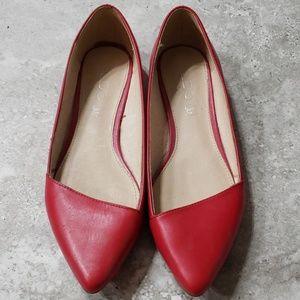 Aldo shoes classic red size 6.5/37EU leather